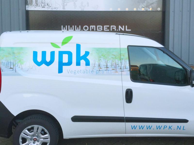 Belettering - Bedrijfsauto belettering voor WPK Vegetable Plants