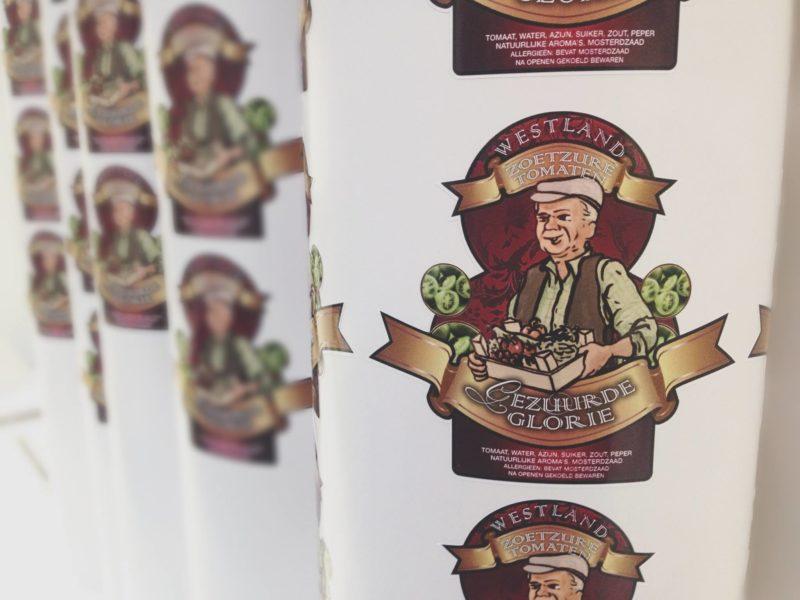 Ontwerp - Labels voor Westland Zoetzure Tomaten
