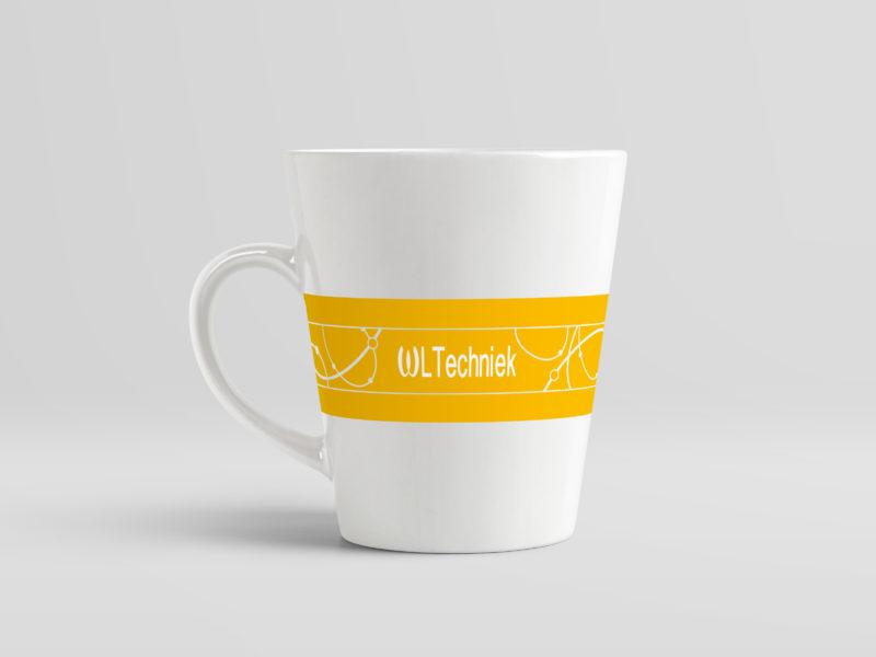 Ontwerp - Koffiemok ontwerp voor WL Techniek